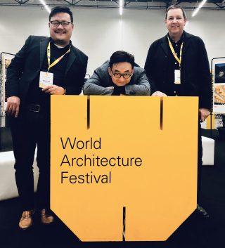 快讯:Link-Arc在2019年世界建筑节大典现场接受颁奖