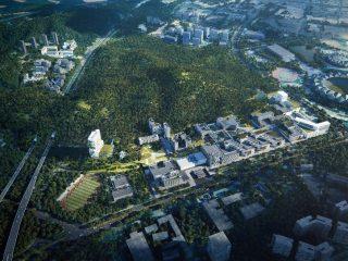 项目:Link-Arc事务所与理查德·迈耶事务所、CCDI所联合设计的香港中文大学深圳校区二期项目入围终审方案