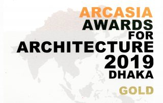AWARDS: Studio Link-Arc receives the 2019 Dhaka Gold Award as part of ARCASIA AWARDS FOR ARCHITECTURE (AAA) from ARCASIA for NSFL School