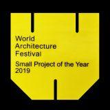 2019 WORLD ARCHITECTURE FESTIVAL, SMALL PROJECT PRIZE