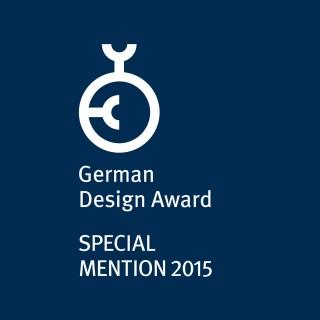 Award: German Design Award Special Mention 2015