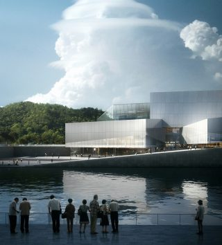 PROJECTS: Luhu Cultural Center in Shenzhen